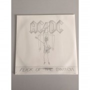 Lp ACDC Flick Of The Switch CAPA MARCADA