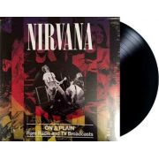Lp Vinil Nirvana On A Plain: Rare Radio And Tv Broadcast