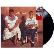 Lp Vinil Ella Fitzgerald & Louis Armstrong Ella And Louis