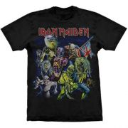 Camiseta Iron Maiden Best Of The Beast