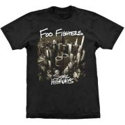 Camiseta Foo Fighters Sonic Highways