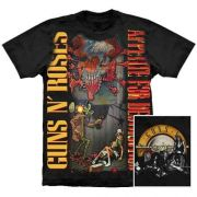 Camiseta Premium Guns N Roses Appetite For Destruction