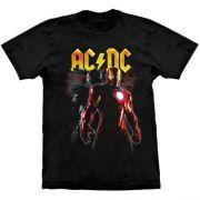 Camiseta AC/DC Iron Man