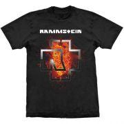 Camiseta Rammstein Lava