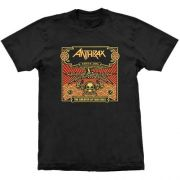 Camiseta Anthrax The Greater Of Two Evils