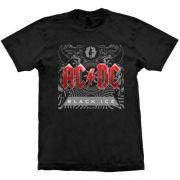 Camiseta AC/DC Black Ice