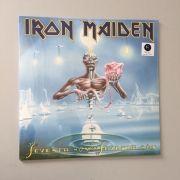 Lp Iron Maiden Seventh Son Of A Seventh Son CAPA AMASSADA