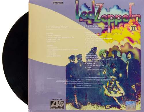 Lp Led Zeppelin II Duplo Deluxe