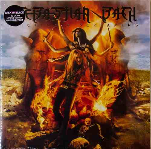 Lp Sebastian Bach Kicking & Screaming