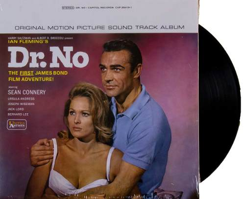 Lp Trilha Sonora James Bond 007 Dr. No