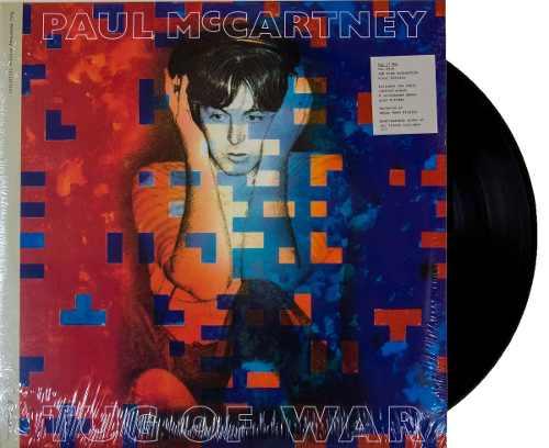 Lp Paul McCartney Tug Of War