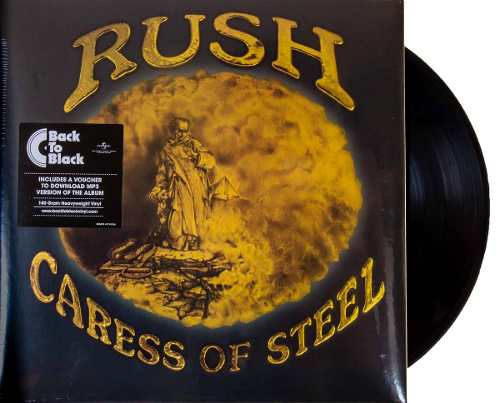 Lp Rush Caress Of Steel