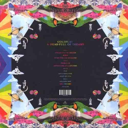 Lp Coldplay A Head Full Of Dreams