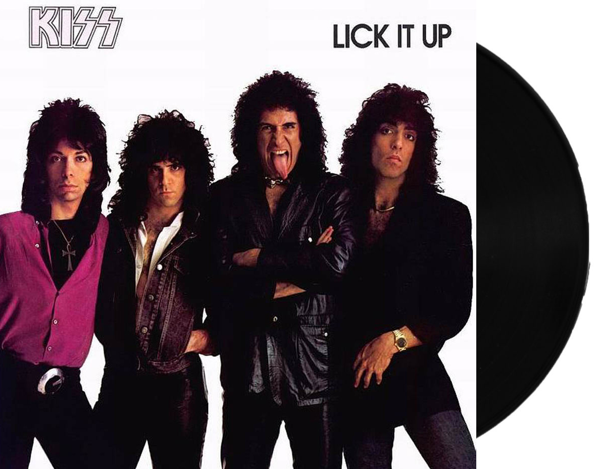 Lp Kiss Lick It Up
