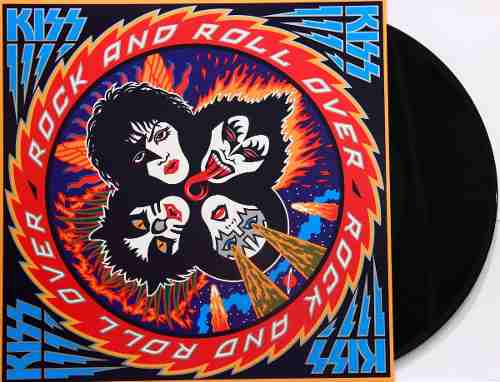 Lp Kiss Rock And Roll Over