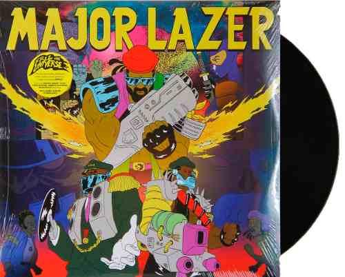 Lp Major Lazer Free The Universe