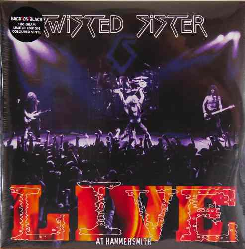 Lp Twisted Sister Live At Hammersmith
