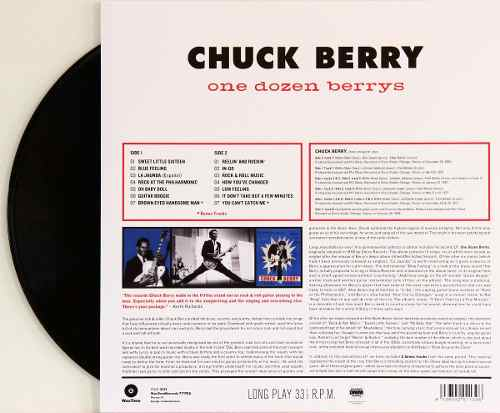 Lp Chuck Berry One Dozen Berrys