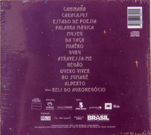 Cd Chico Cesar Estado De Poesia