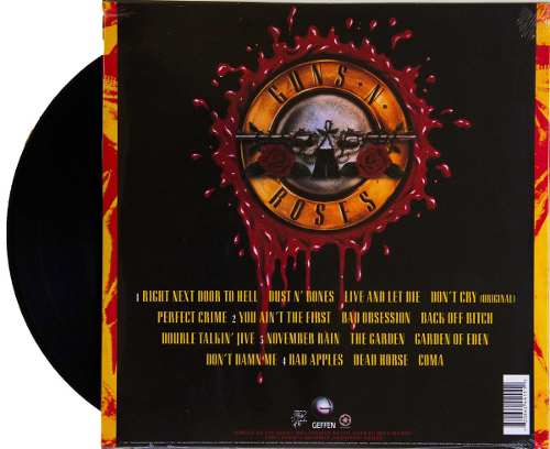 Lp Guns N Roses Use Your Illusion I
