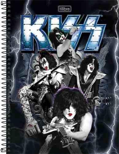Caderno Tilibra Kiss Monster 10 Matérias 200 Folhas
