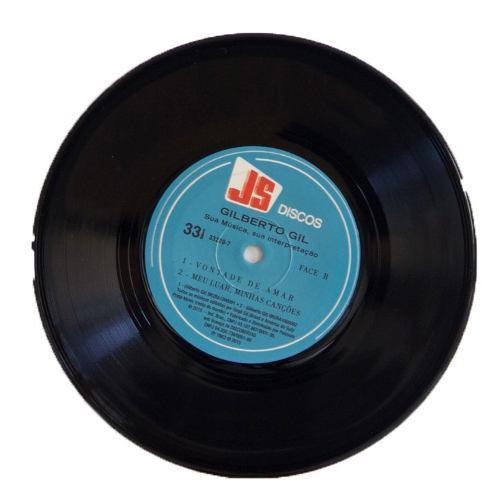 Lp Compacto Gilberto Gil Sua Música Sua Interpretação