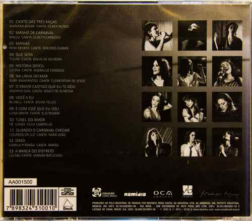 Cd Cantoras Do Brasil