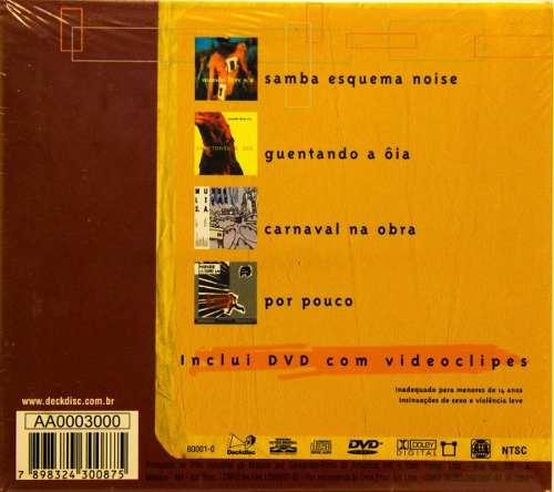 Cd Box Set Mundo Livre S/a 4 Cds 1 Dvd
