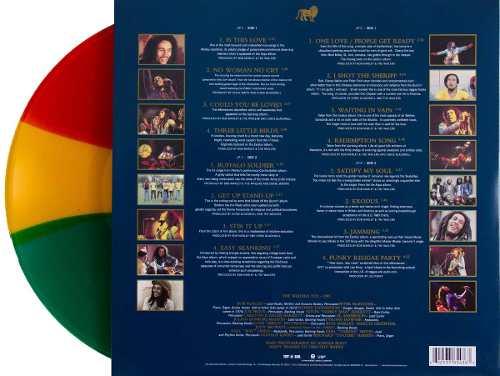 Lp Bob Marley Legend Colorido