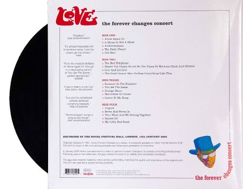 Lp Love The Forever Changes Concert