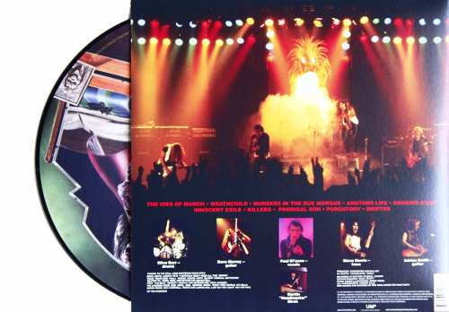 Lp Picture Disc Iron Maiden Killers