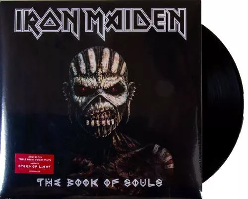 Lp Iron Maiden The Book Of Souls
