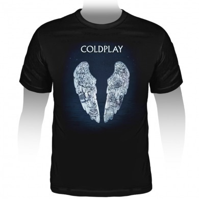 Camiseta Coldplay Ghost Stories