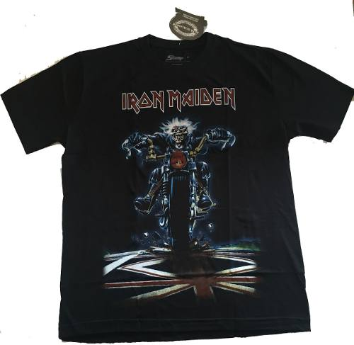 Camiseta Iron Maiden Dont Walk