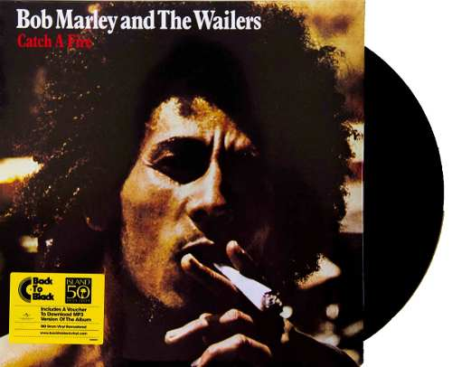 Lp Bob Marley & The Wailers Catch A Fire