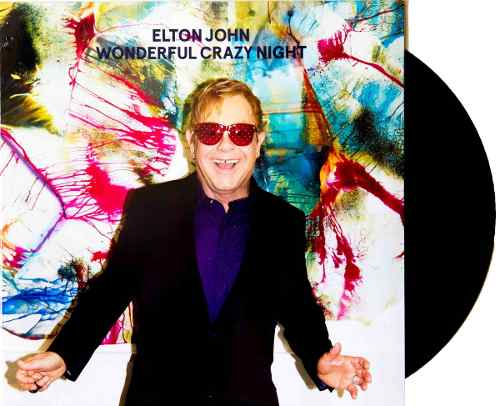 Lp Elton John Wonderful Crazy Night