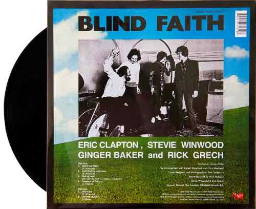 Lp Blind Faith 1969