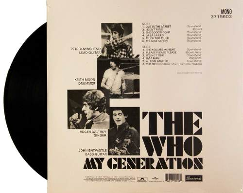 Lp The Who My Generation