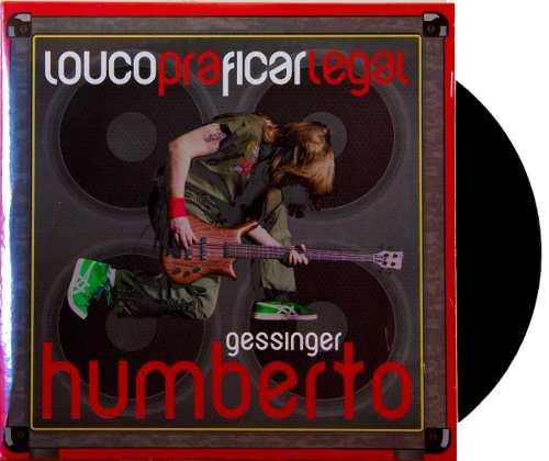 Lp Compacto Humberto Gessinger Louco Pra Ficar Legal