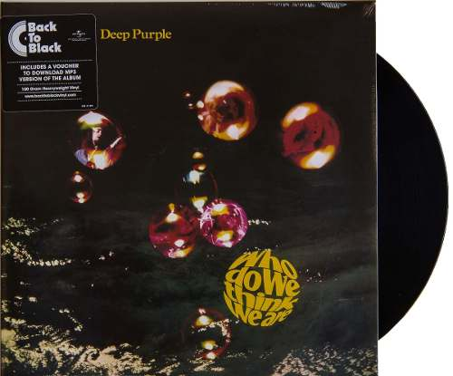 Lp Deep Purple Who Do We Think We Are!
