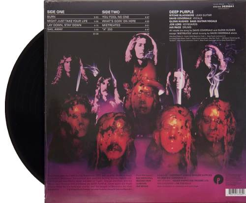 Lp Deep Purple Burn