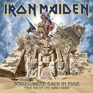 Cd Iron Maiden Somewhere Back In Time