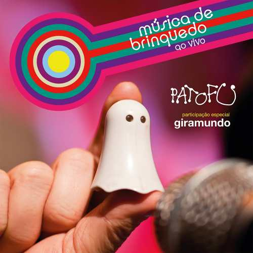 Cd Pato Fu Musica De Brinquedo Ao Vivo