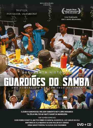 Cd + Dvd Guardiões Do Samba