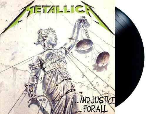 Lp Metallica And Justice For All