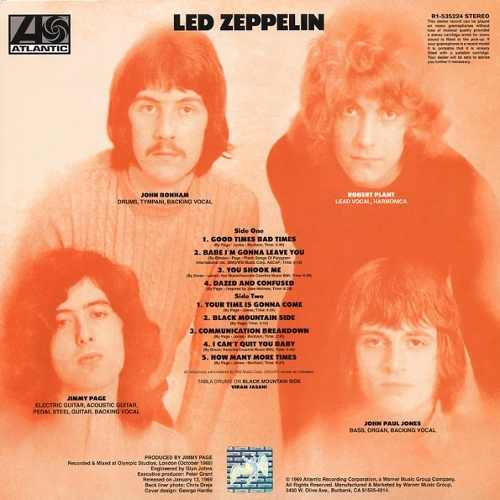 Lp  Led Zeppelin I