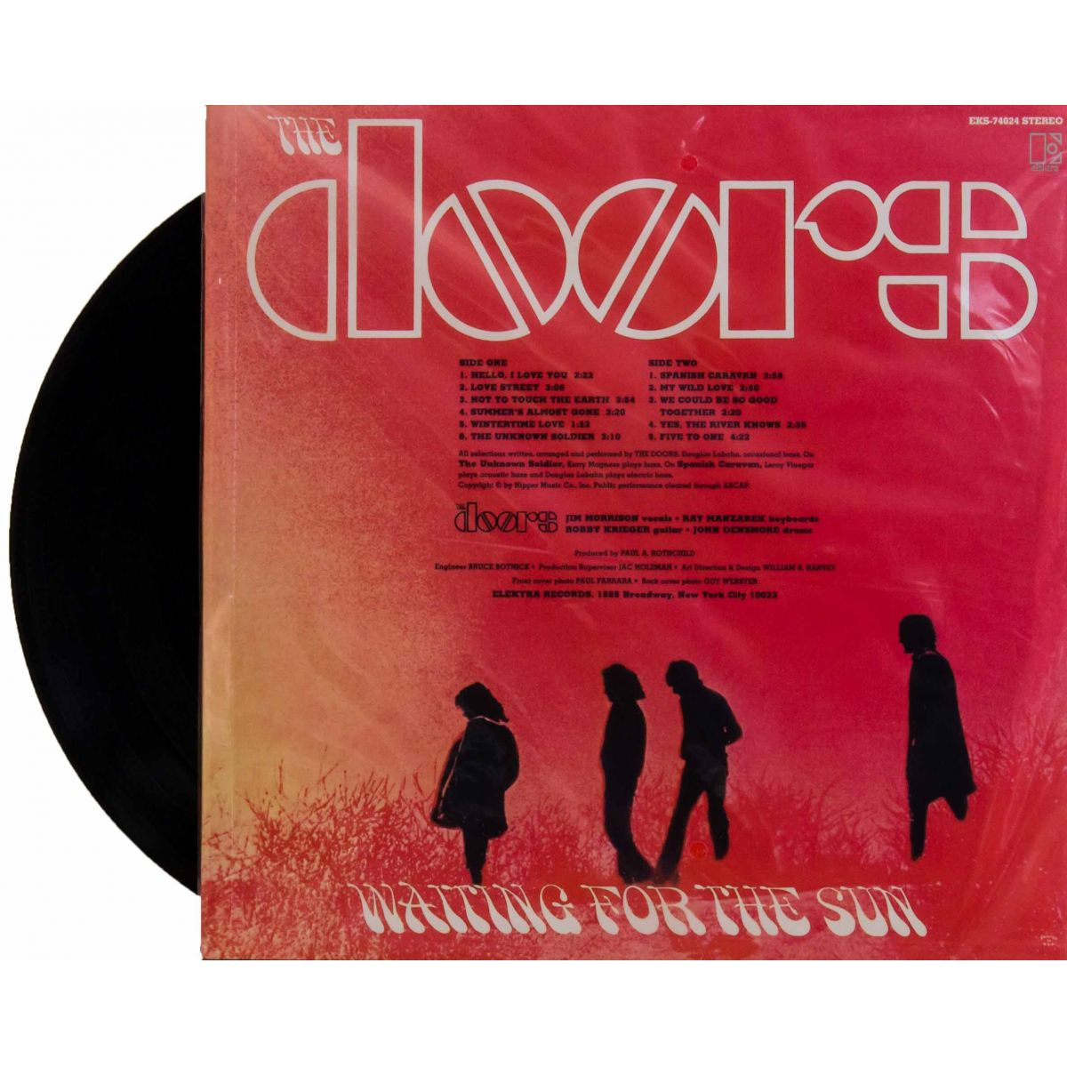 Lp The Doors Waiting For The Sun