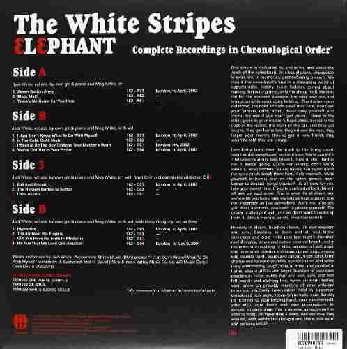 Lp The White Stripes Elephant
