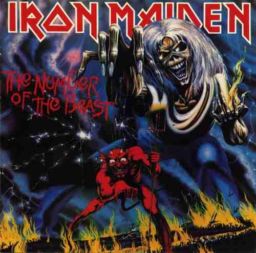 Cd Iron Maiden The Number Of The Beast
