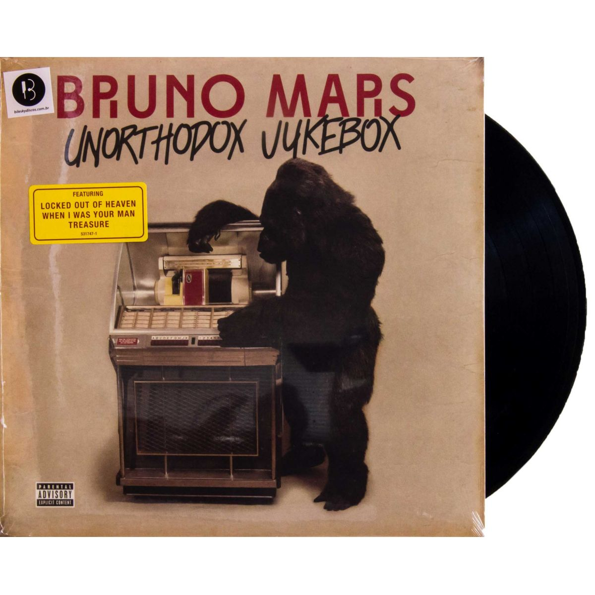 lp vinil bruno mars unorthodox jukebox bilesky discos. Black Bedroom Furniture Sets. Home Design Ideas